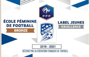 Label Jeunes Excellence et Label Ecole de Football Féminin